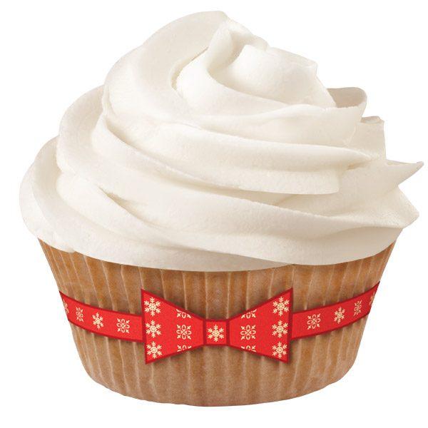Θήκες για cupcakes 24 θήκες και 24 stickers