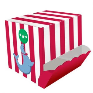 Candy Dispenser Treat Box Circus Time 4τεμ