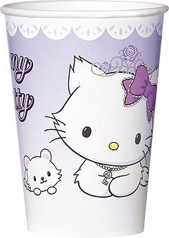 Ποτήρια 200ml Charmmy Kitty