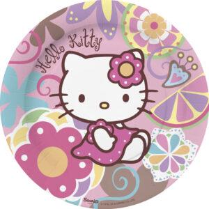 Πιάτα φαγητού 23εκ. Hello Kitty Bamboo