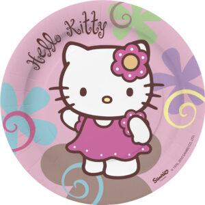 Πιάτα γλυκού 18εκ. Hello Kitty Bamboo