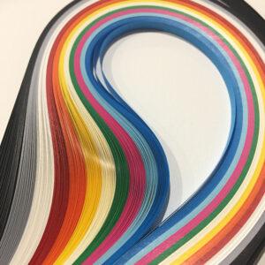Χαρτολωρίδες Ματ σε διάφορα χρώματα 6 χιλ.