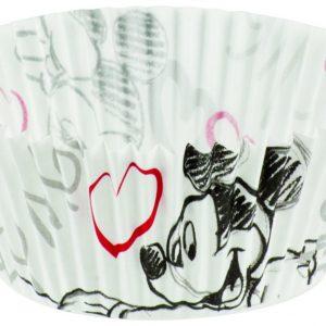 Θήκες για κεκάκια Mickey & Minnie 30τεμ.