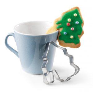 Κουπ πατ μεταλλικό Χριστουγεννιάτικο 2τεμ.