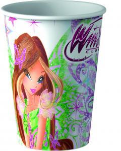 Ποτήρια χάρτινα 200ml Winx 8τεμ.