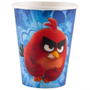 Ποτήρια χάρτινα 266ml Angry Birds Movie 8τεμ.
