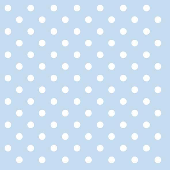 Χαρτοπετσέτες Φαγητού Pastel Dots Blue 33x33 cm 20τεμ.