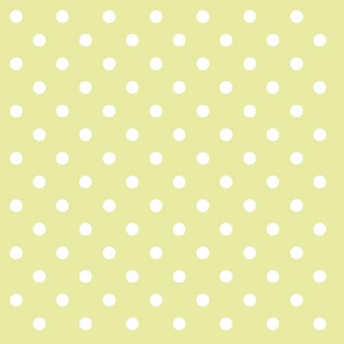 Χαρτοπετσέτες Φαγητού Dots Green 33x33 cm 20τεμ.