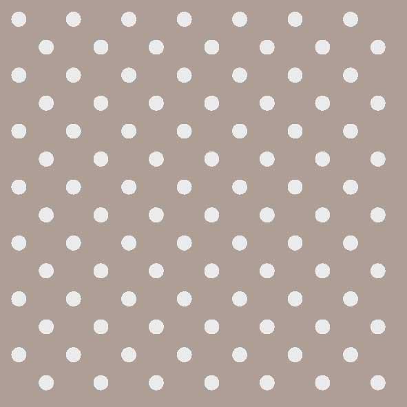 Χαρτοπετσέτες Φαγητού Dots Taupe 33x33cm 20τεμ.
