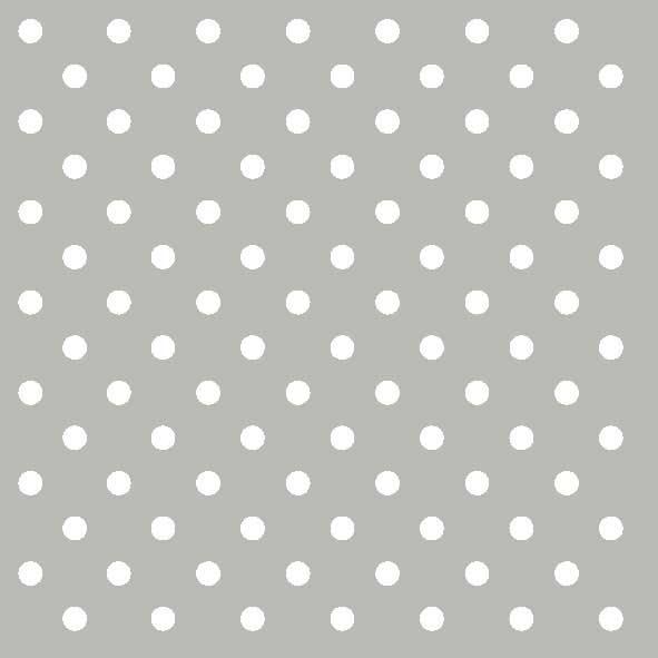 Χαρτοπετσέτες Φαγητού Dots Grey 33x33 cm 20τεμ.