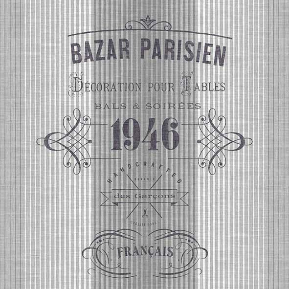 Χαρτοπετσέτες Φαγητού Bazar Parisien 33x33cm 20τεμ.