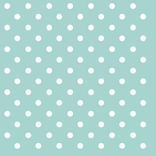 Χαρτοπετσέτες Φαγητού Dots Aqua 33x33cm 20τεμ.