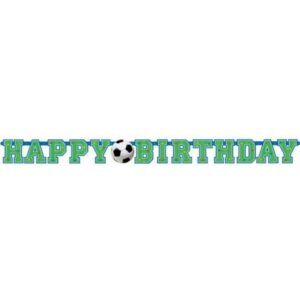 Γιρλάντα happy birthday Ποδόσφαιρο 1τεμ.