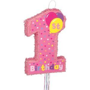 Πινιάτα 1st Birthday Κορίτσι