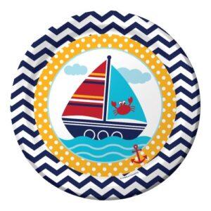 Πιάτα Φαγητού Ahoy Matey 22,2cm 8τεμ.