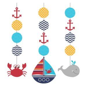 Κρεμαστό Διακοσμητικό Ahoy Matey 3τεμ.