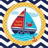 Προσκλητήρια Ahoy Matey Sailboat 8τεμ.