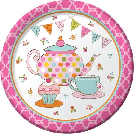 Πιάτα Φαγητού Tea Time 22,2cm 8τεμ