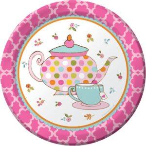 Πιάτα Γλυκού Tea Time 17,4cm 8τεμ