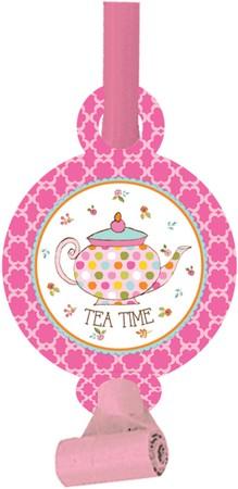 Αναπτυσσόμενες Σφυρίχτρες Tea Time 8τεμ