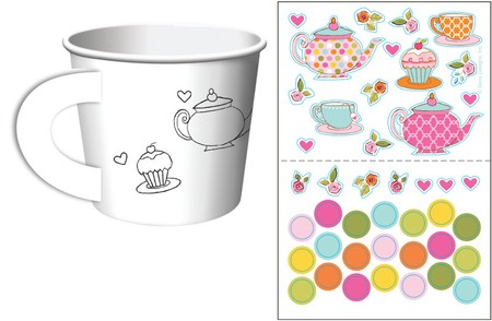 Activity Treat Cups Tea Time 266ml 6τεμ