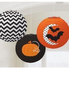 Κρεμαστές διακοσμητικές μπάλες Halloween 3τεμ.