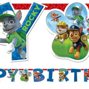 Happy Birthday Banner 1,8μ. Paw Patrol 1τεμ.