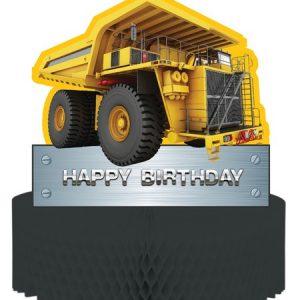 Κέντρο Τραπεζιού Construction Birthday Zone 1τεμ
