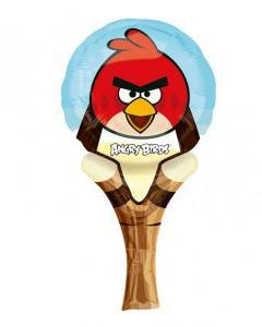 Μπαλόνι ρακέτα Foil Angry Birds 1τεμ.