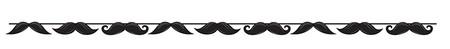 Χάρτινο Banner Mustache Μadness 1τεμ