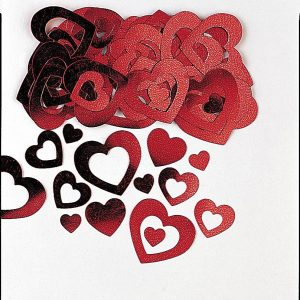 Confetti Red Heart Die-Cut