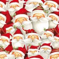 """Χαρτοπετσέτες ντεκουπάζ """"Funny Santa"""""""