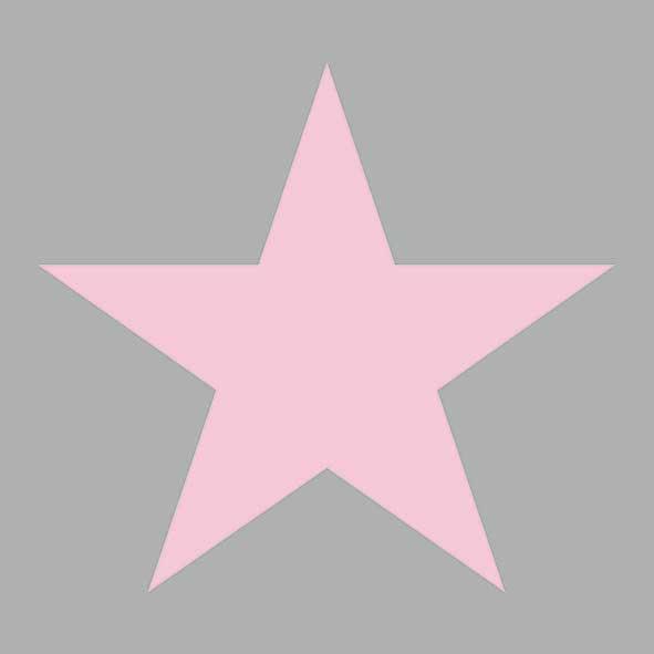 Χαρτοπετσέτες Φαγητού Star Grey/Pink 33x33cm 20τεμ.