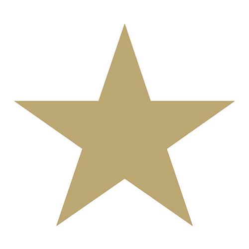 Χαρτοπετσέτες Φαγητού Star White/Gold 33x33 cm 20τεμ.