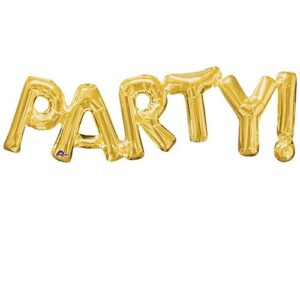 Μπαλόνι Foil χρυσό PARTY! 1 τεμ.