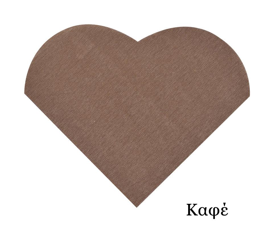 Χαρτοπετσέτες σε σχήμα καρδιάς 9x12cm