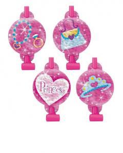 Αναπτυσσόμενες σφυρίχτρες Princess 8τεμ.