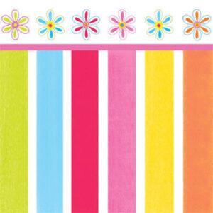 Χαρτοπετσέτες Γλυκού Pink Flower Cheer 24,8x24,7cm 16τεμ.