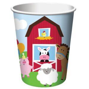 Xάρτινο Ποτήρι Farmhouse Fun 8τεμ