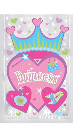 Σακούλα ζελατίνα δώρου Πριγκίπισσα 21,6x22,3εκ.