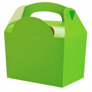 Χάρτινο Lunch box lime 8τεμ. 10x15x16εκ.