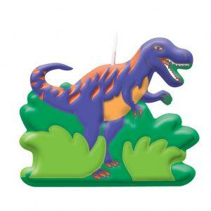 Κεράκια μίνι Δεινόσαυροι 6τεμ.