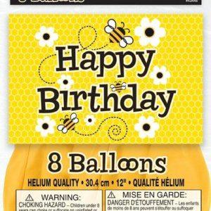 Μπαλόνια Μελισσούλες 8τεμ.