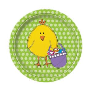 Πιάτα γλυκού 18εκ. Bright Easter 8τεμ.