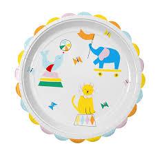 Πιάτα φαγητού Silly Circus 12τεμ.
