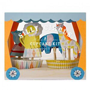 Cupcake set Silly Circus 24τεμ. + 24τεμ.