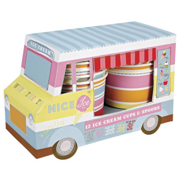 Ice Cream Van - Ice Cream Cups 12τεμ.
