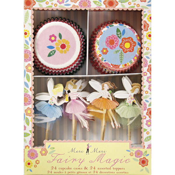 Fairy Magic Cupcake set 24 + 24τεμ.