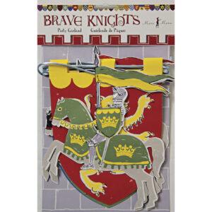 Γιρλάντα Brave Knights με 8 σημαιάκια