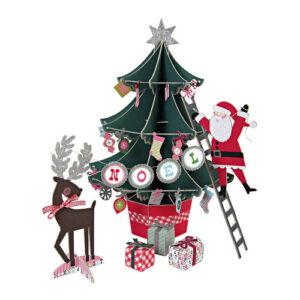 Χριστουγεννιάτικο δέντρο κέντρο τραπεζιού